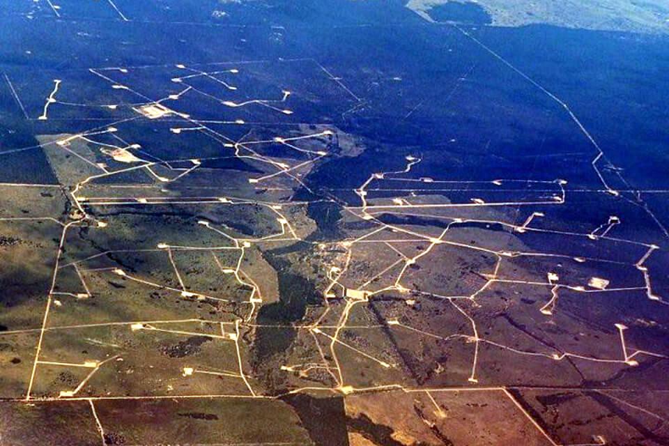 Coal seam gas field, Chinchilla