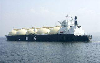 The LNG carrier Shahamah