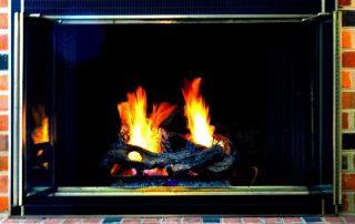 natural gas fire