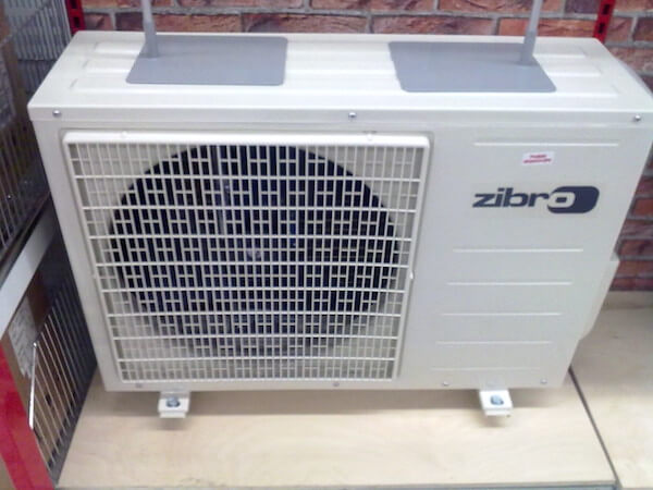image of Air source heat pump