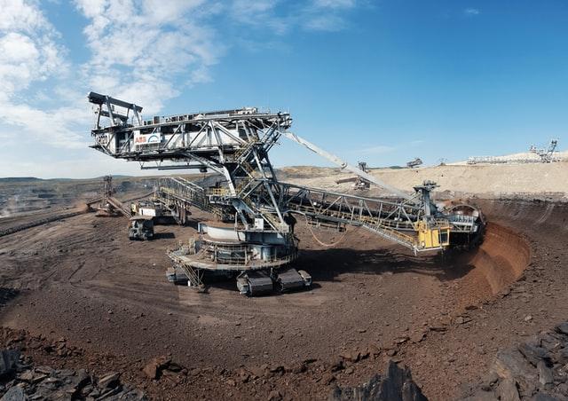 image of coal mining