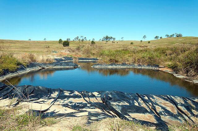Frack pond