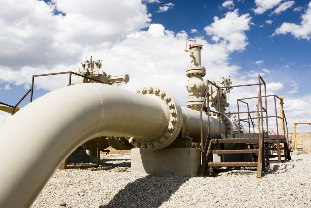 image of gas pipeline in australia